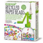 Hunnie-4M Green Creativity Recycled Paper Beads
